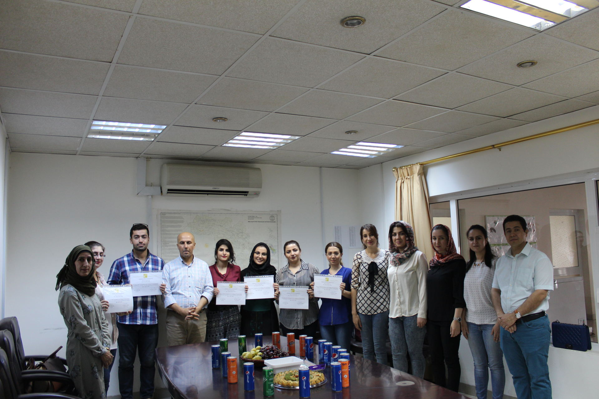 Students from University of Sulimani